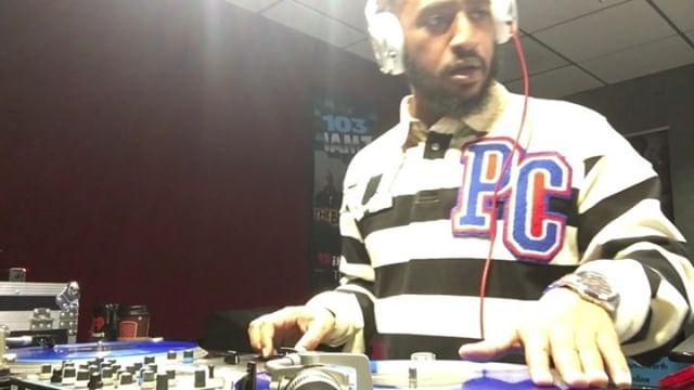 The #12Oclockflashback with @djrickgeez every weekday at noon on @103jamzradio....#straightfire #103jamz #iheartradio #mixcloud #djrickgeez #throwback #radio #mixshow